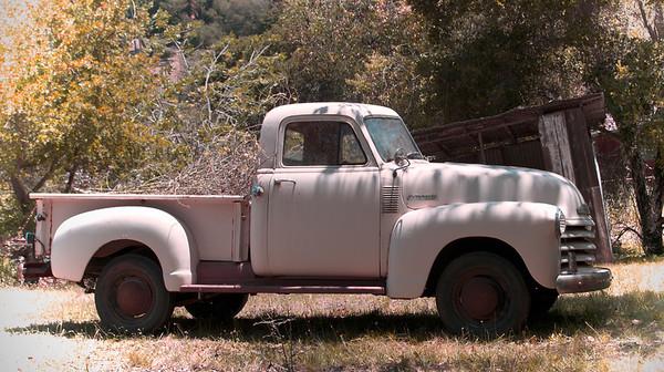 Vintage Trucks and Barns